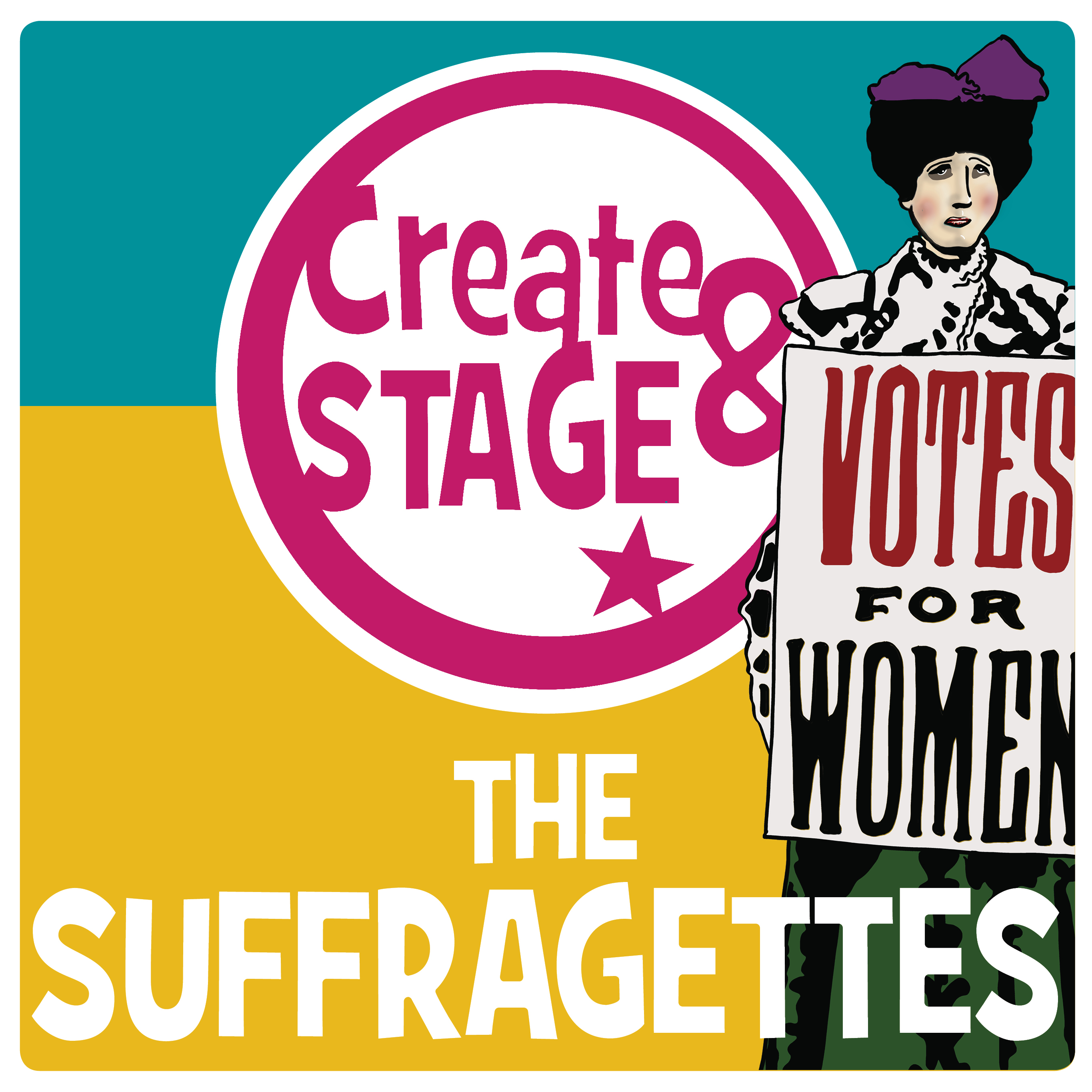 Create and Stage the Suffragettes school workshop for KS2. Explore the Suffrage movement through a drama workshop.
