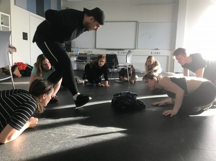 Stanislavski In Training - It all starts with imagination. School and college workshops for GCSE and a-level students studying Stanislavski and the great practitioners.