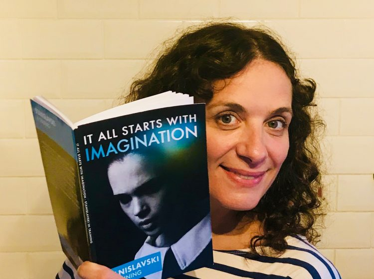 Victoria May author 'It All Starts with Imagination - Stanislavski in training' A resource for all learning or teaching the Stanislavski method. Simple step by step exercises to take you through an actor prepares.